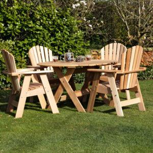 omfy chair dining set prachtige tuinset met 4 eetstoelen