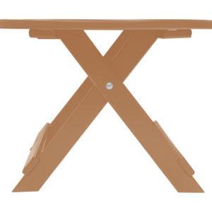 Side Table Bruin.Kunststof Comfy Side Table Cst 400 Leder Bruin Canada Comfy Chair