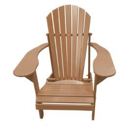 Kunststof Comfy Chair FCC-100 Leder Bruin
