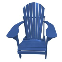 Kunststof Comfy Chair FCC-100 Blauw