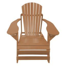 Kunststof Folding Comfy Chair FCC-200 Leder Bruin
