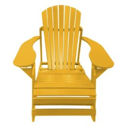 Kunststof Folding Comfy Chair FCC-200 Geel