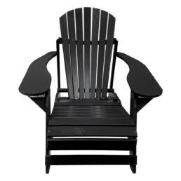 Kunststof Folding Comfy Chair FCC-200 Zwart