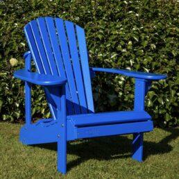 adirondack chair blauw