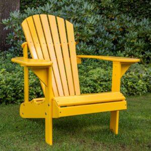 adirondack chair geel