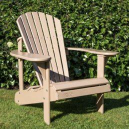 adirondack chair lederbruin