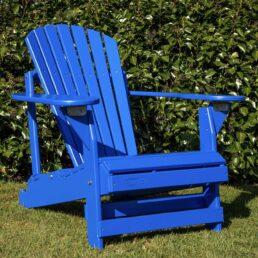 adirondack chair verstelbaar blauw