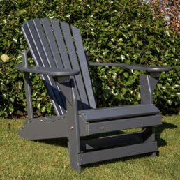adirondack chair verstelbaar grijs