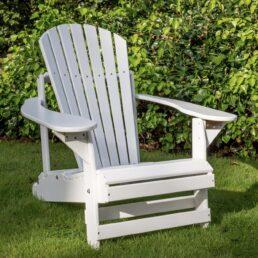 adirondack chair verstelbaar wit