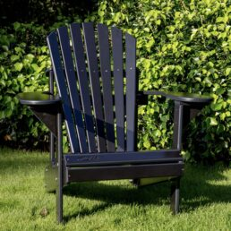 adirondack chair zwart