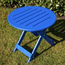 adirondack sidetable blauw