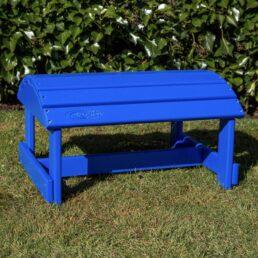 adirondack voetenbank blauw