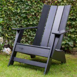 Modern Comfy Chair Zwart