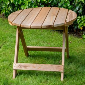 Comfy Chair sidetable hout
